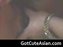 Hidden cam with asian couple making love