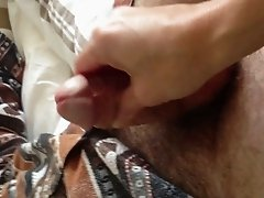 wanking on a penis