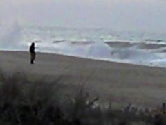 punheta na praia1