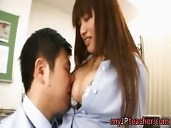 Kirara Kurokawa Japanese teacher sucks part3