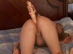 Baseball bat anal