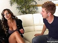 Awesome Esperanza Gomez Seduces Her Sons Best Friend