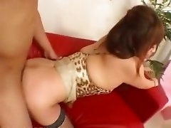 Lingerie and deep tokyo anal sex