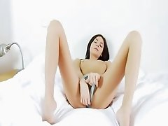 The most sexy cunt with sexy toy