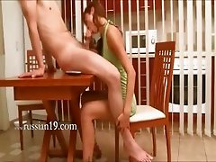 Natashas sexing adventure on the table