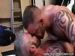 Masculine studs screwing eachother