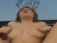 Leah Livingston - Natural Tits Brunette Hard Fuck