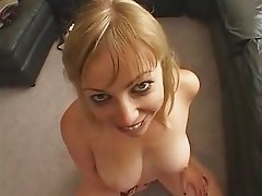 Blonde giving great BJ-RDLV
