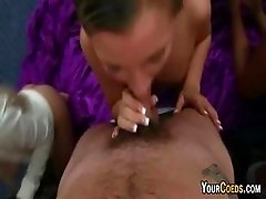 College Sex Party With Group Blowjobs