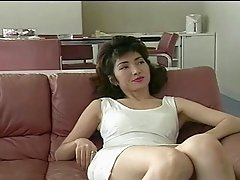 Asian Mom teaching