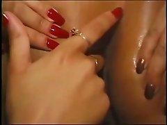 Lesbians & Pornstars: Vanessa B & Fonda French