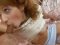 Giving A Deepthroat Blowjob