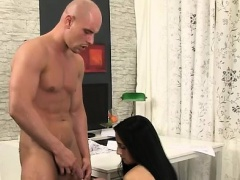 Anna Rose eats cock after a piss shower