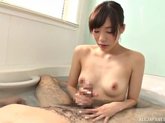 airi's most favorite place for the dick sucking is the bathroom