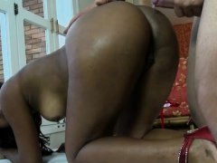 Wicked mamita from brazil prepares for kinky blow job games