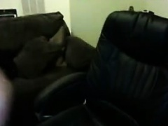 Masturbates on camera in a seat