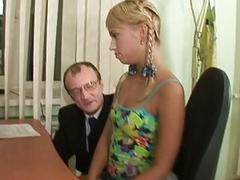 Girl pleasures her slutty old dominant zealously