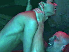 Real young couple having passionate sex