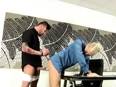 Gay amish sex and interracial gay chubby porn Deacon Hunter