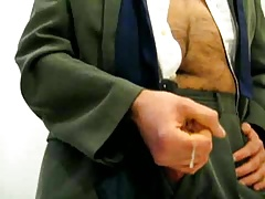 Suit daddy cumming