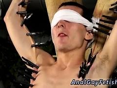 movies gergay man bondage Skinny Slave Cums Hard!