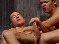 Hung Tall Built Daddy Seduces Boy Hot Cum Shots