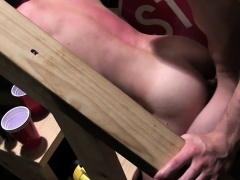 Amateur frats excruciating anal hazing