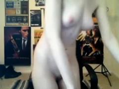 Punk Teen Webcam Girl Chatting Naked 3