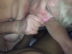 Granny fuckbuddy blowjob