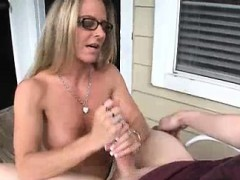 Horny Step-mom's Got Something Special For Him
