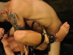 Tied slut Sabrina Banks toys pussy bdsm bondage