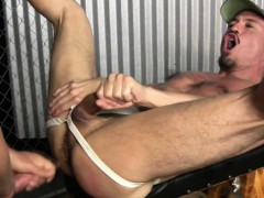 Muslcy stud raw dogs hole