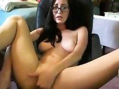 Horny Nerd Masturbating