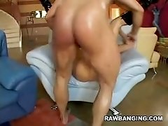 Nadia Gets Rough Pussy Pounding