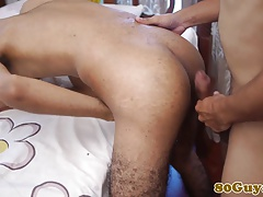 African amateur bareback cockriding after bj