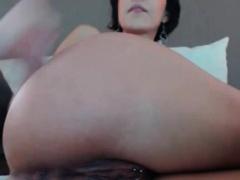 Busty model w pierced clit loves to fuck ass