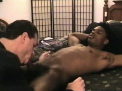 Real straight black dude being cocksucked