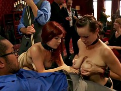 Horny old guys have a kinky orgy in the basement