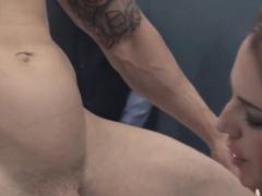 glamorous BDSM anal action in gangbang