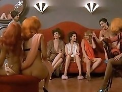 Entertaining retro erotic movie with beautiful vintage blondes and brunettes