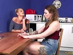 Blowjob Catfight