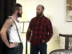 Bearded And Hairy Guys Dustin Steele and Brendan Patrick