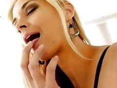 Sarah Vandella Hot Cock Stimulation POV
