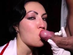 busty german nurse extreme anal banged