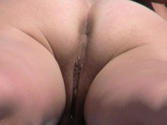 Amateur Nudist Voyeur Pierced Pussy Close Up Video