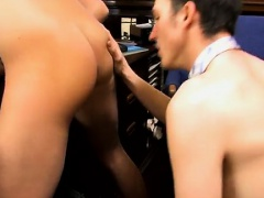 Sexy gay He finally caverns in to Mr. Perelli's demands and