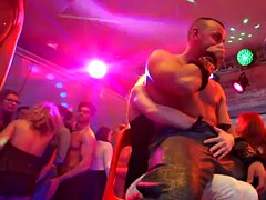 Real euro amateur in stripper cocks munching