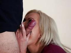 Cody fucks Nina Elle on top of his cock