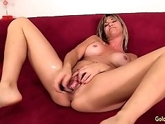 Mature Sky Haven Lewd Toy Solo Session