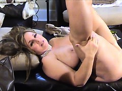 Chubby cougar gets fucked by a stud
